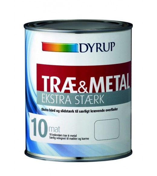 Dyrup Træ & Metal Ekstra Stærk - Størrelse - 1 L, Farve - tonebar, Type - Glans 60 Halvblank thumbnail