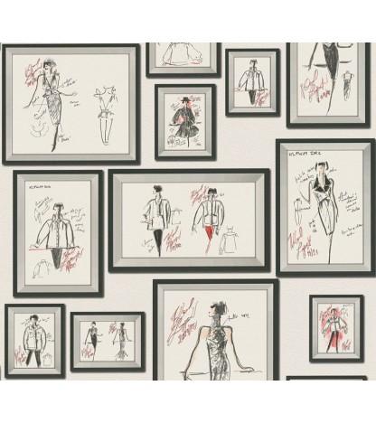 Tapet JU. Karl Lagerfeld 37846-3