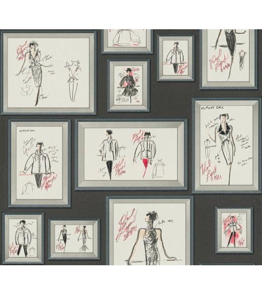 Tapet JU. Karl Lagerfeld 37846-1