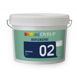 DYRUP REFLEKSFRI LOFTMALING 02 LYS RÅHVID