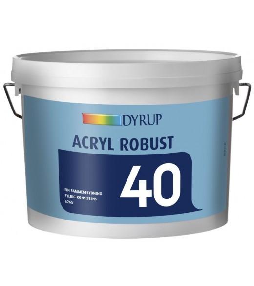 Dyrup robust acryl 40 - Størrelse - 2,5 L, Farve - hvid thumbnail