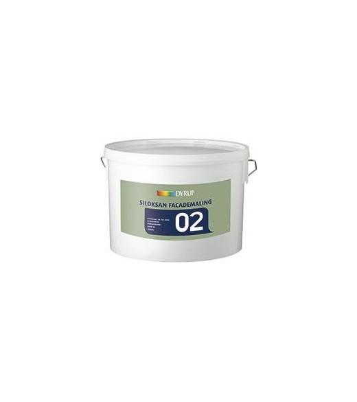 Siloksan Facademaling - Størrelse - 10 L, Farve - hvid thumbnail