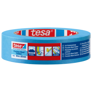 Tesa Presisions Mask Outdoor Blå