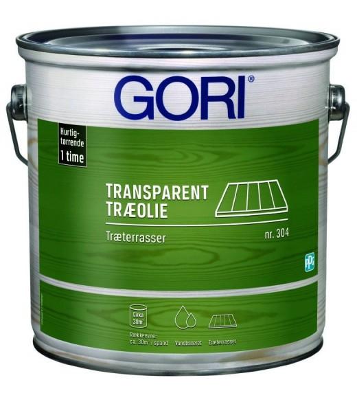 Image of   GORI 304 TRÆTERRASSE VANDIG (tidl Gori Træterr. Express) - Størrelse - 2,5 L, Farve - farveløs