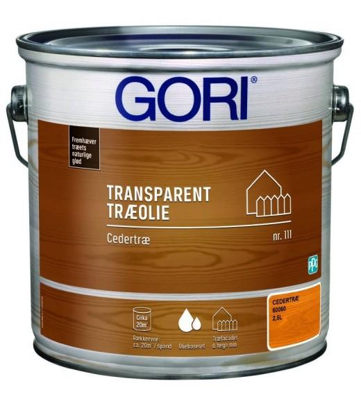 Image of   GORI 111 CEDERTRÆ OLIE (tidl. Gori Cedertræ) - Størrelse - 2,5 L