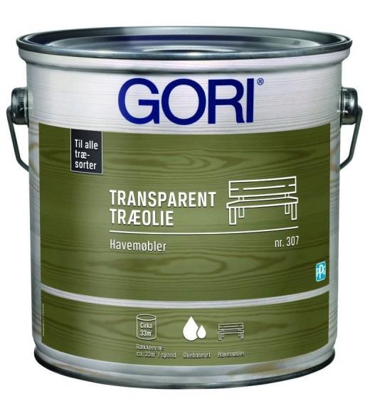 Image of   GORI 307 HAVEMØBLER OLIE (tidl. Gori Havemøbler) - Størrelse - 0,75 L, Farve - farveløs