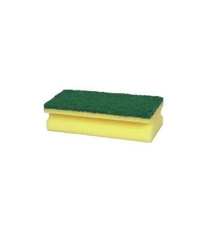 Rengøringssvamp Gul/Grøn