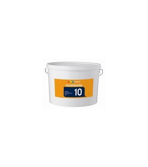 Image of   Dyrup Acryl 10 - Størrelse - 10 L, Farve - hvid