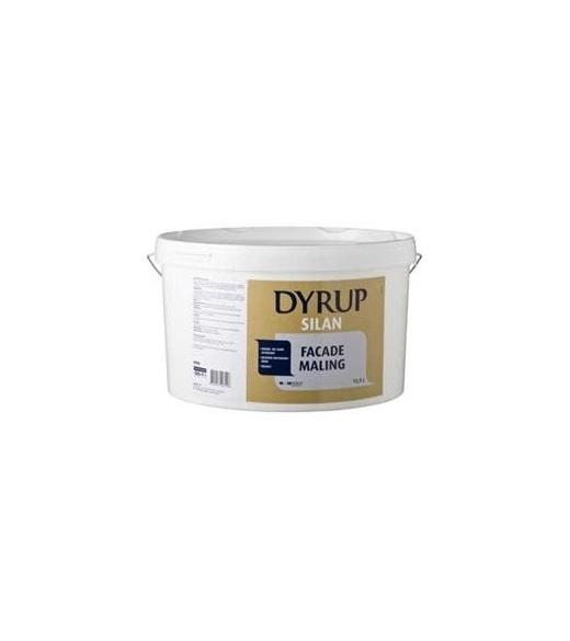Image of   Dyrup Silan Facademaling - Størrelse - 12,5 L, Farve - hvid