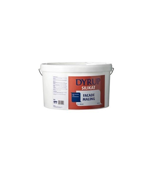 Dyrup Silikat Facademaling hvid 12,5 L