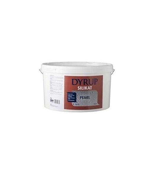 Image of   Dyrup Silikat Pearl Facademaling - Størrelse - 12,5 L, Farve - hvid