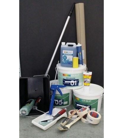 Pakke Standard 40-50 m2