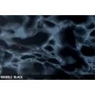 Marmor sort klæbefolie