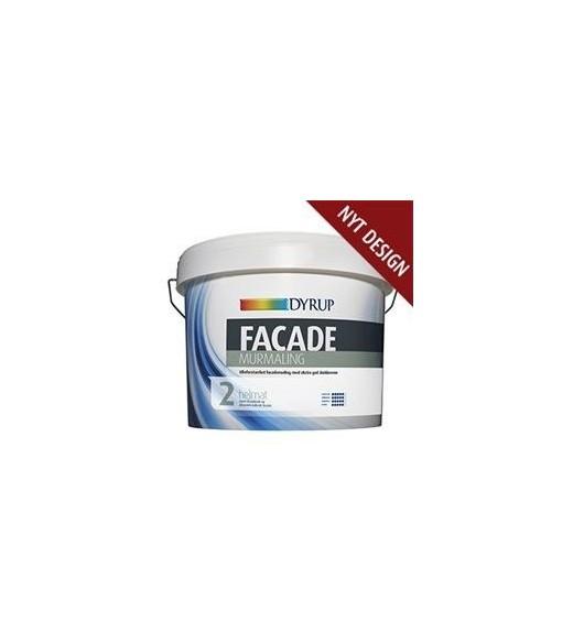 Image of   Dyrup Facade Murmaling/ Dekstrem Facademaling Mur - Størrelse - 2,25 L, Farve - hvid